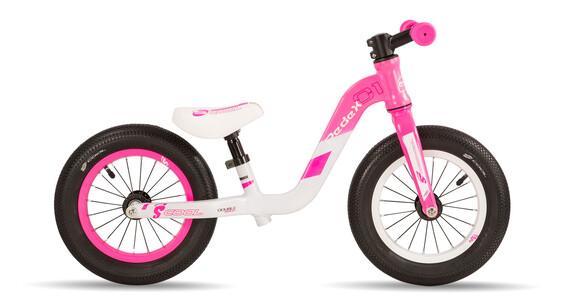 s'cool pedeX 1 - Draisienne Enfant - rose/blanc